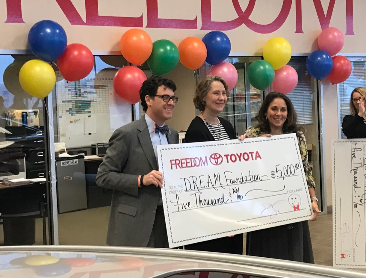 DREAM Awarded Funds from Freedom Auto Group & Toyota