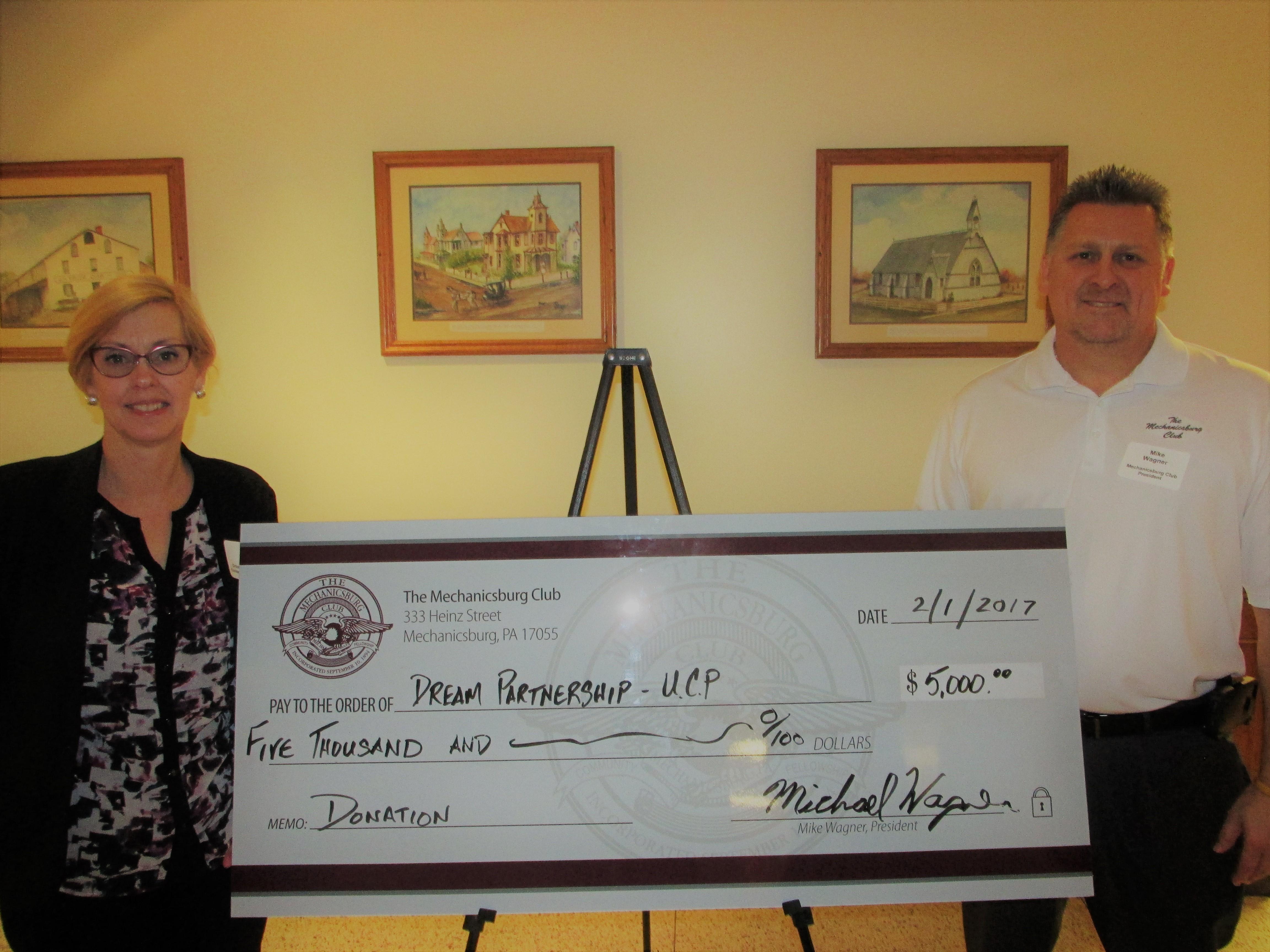 Mechanicsburg Club awards DREAM Scholarship Funds