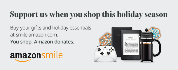 Support DREAM when shopping at Amazon this holiday season